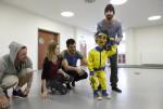 Elita současného tance nacvičuje v Zašové norskou choreografii o ping–pongu