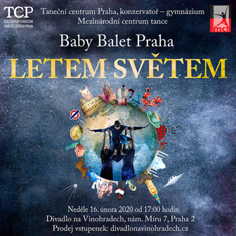 Baby Balet Praha - Letem světem