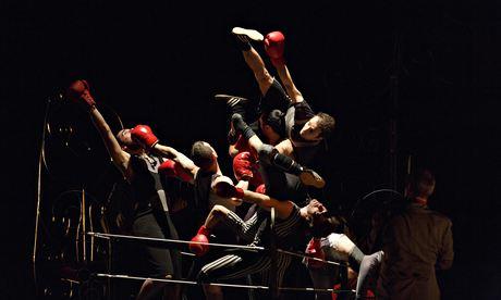 Full swing … Mourad Merzouki's Boxe Boxe.