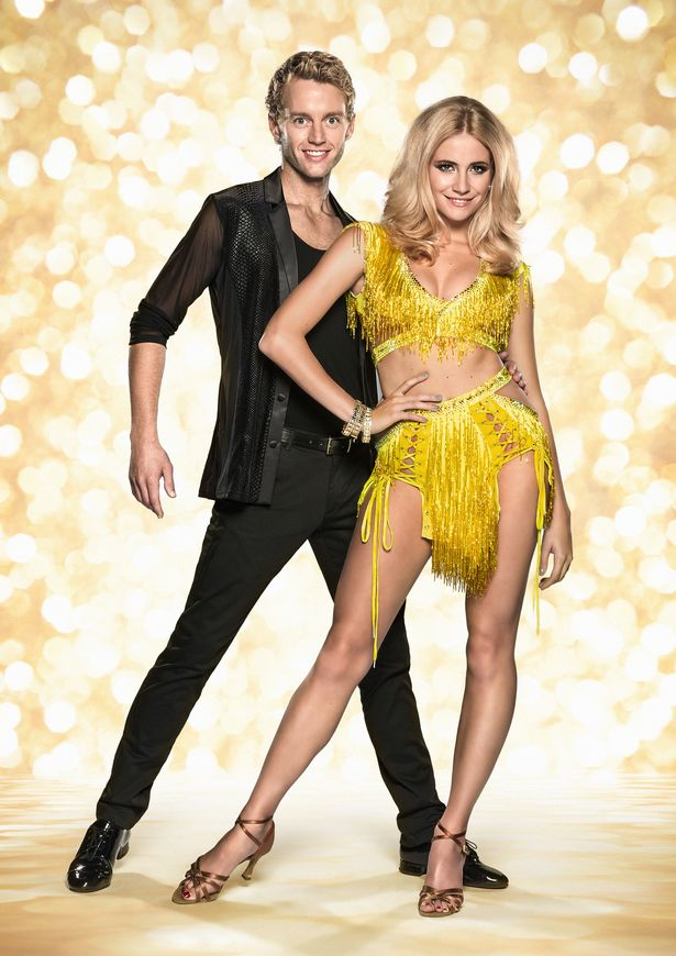 Trent-Whiddon-and-Pixie-Lott-on-Stricly-Come-Dancing