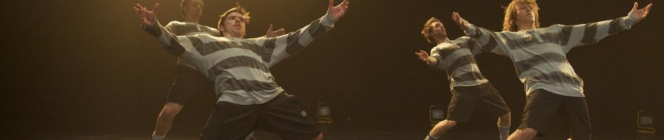 Norští tanečníci zJo Strømgren Kompani se ponoří do fotbalového šílenství
