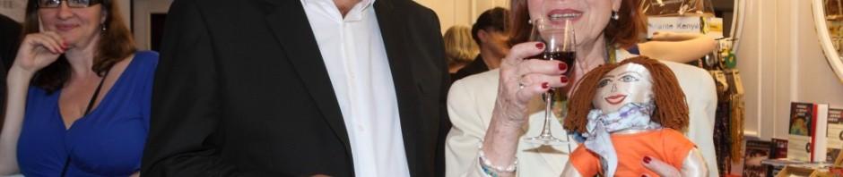 Vlastimil Harapes oslavil narozeniny Ivy  Janžurové a Zdeňka Trošky