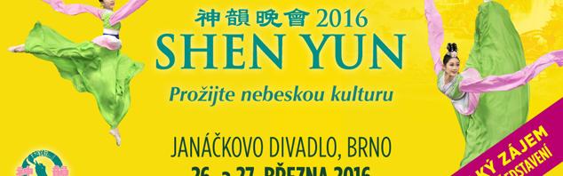 Shen Yun – ohromil diváky a přidává třetí představení!