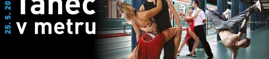 Tanec vpražském metru!