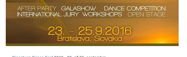 Žhavé letní novinky zfestivalu Pressburg Dance Fest