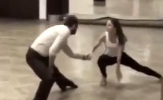 Veronika Khek Kubařová tančí rumbu