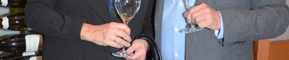 Milovníci kvalitních vín Zlata Adamovská a  Petr Štěpánek hodnotili investiční vína zvěhlasného Chateau Margaux