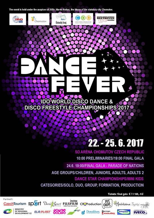 Mistrovství světa – Disco Dance a Disco Freestyle začíná!