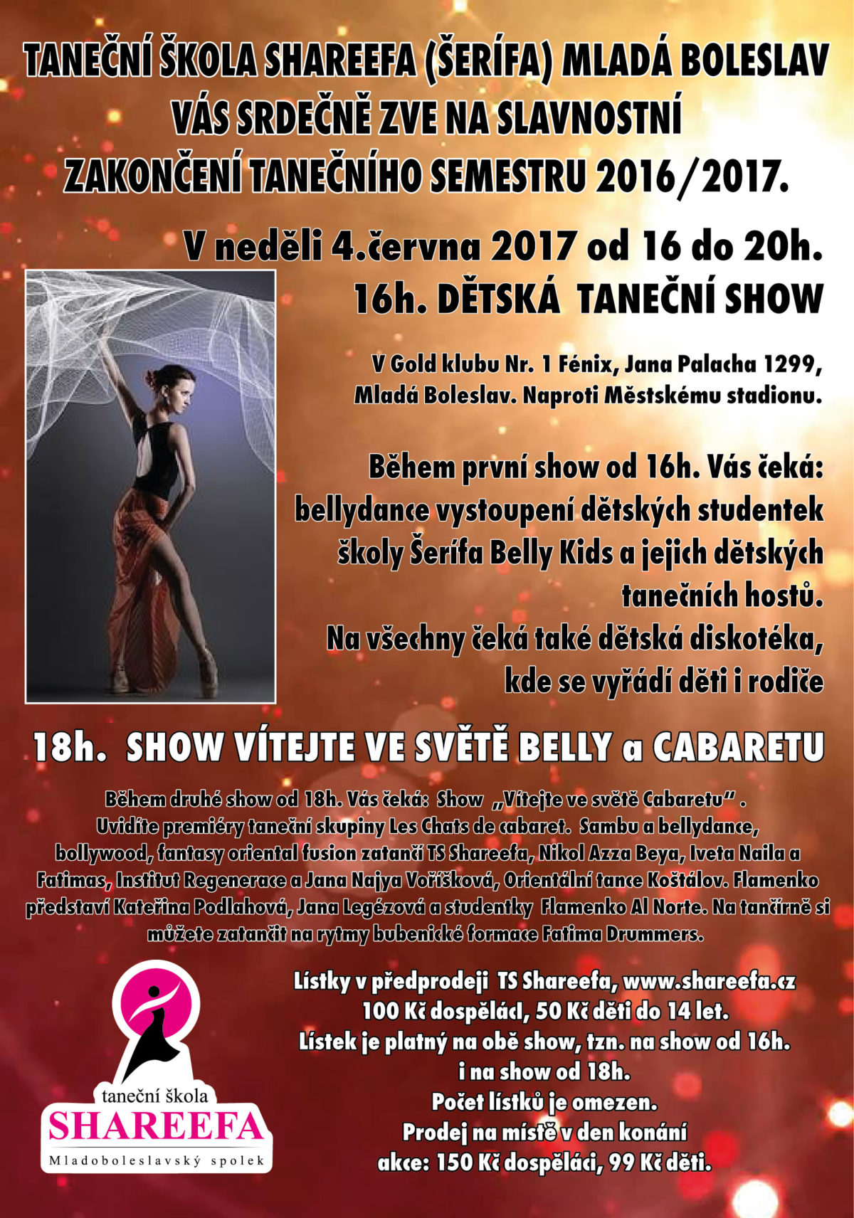 Taneční show vMladé Boleslavi