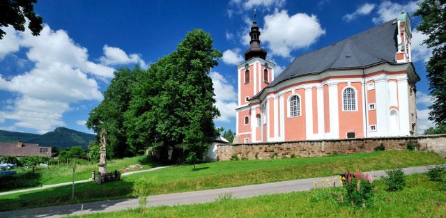 Unikátní broumovské kostely otevřeny po celé léto