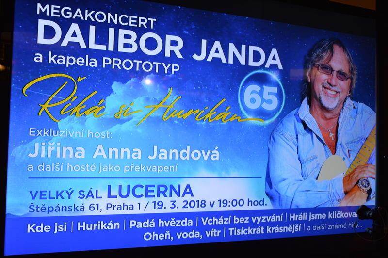 DALIBOR JANDA chystá Megakoncert vpražské Lucerně