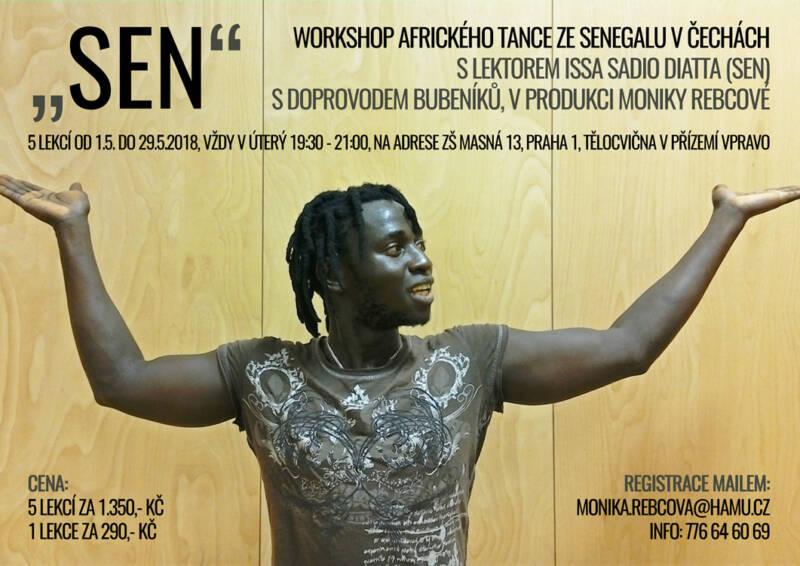Kurz  afrického tance