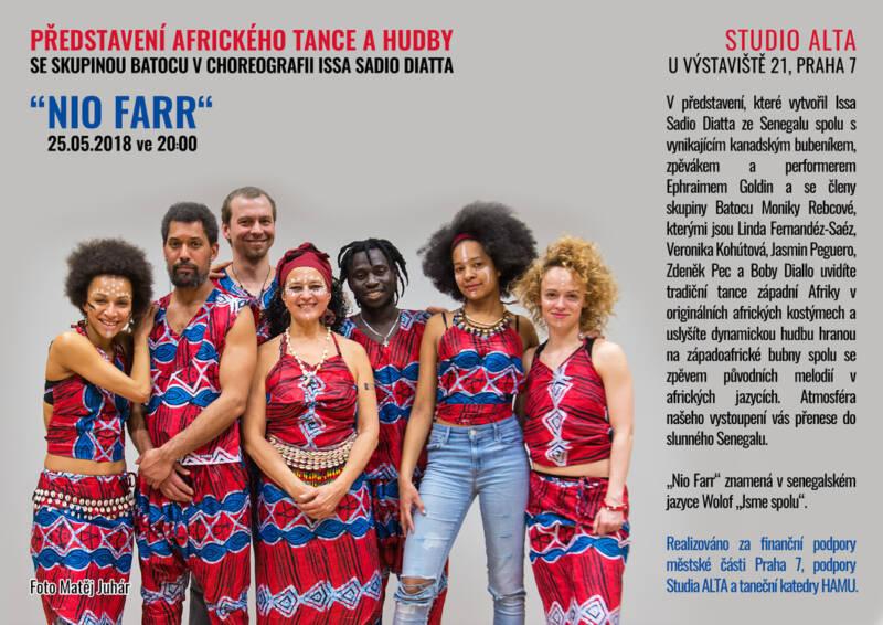 Africký tanec