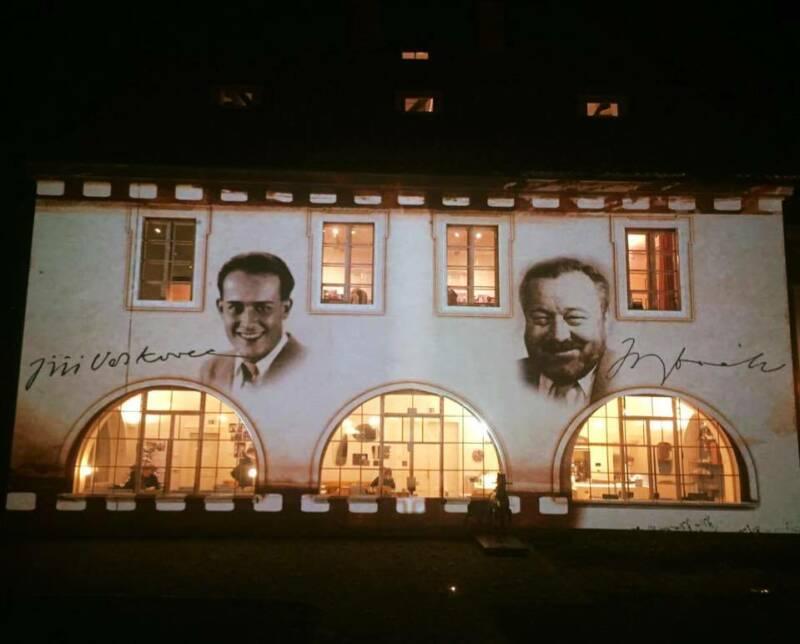 Werichova vila ani vzimě nespí!