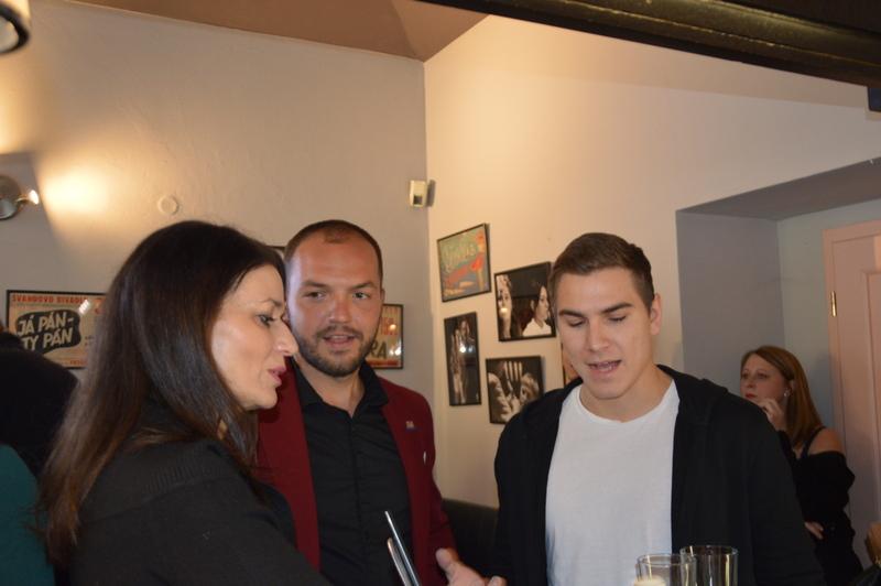 Adéla Gondíková a Martin Šimek vplném tréninku