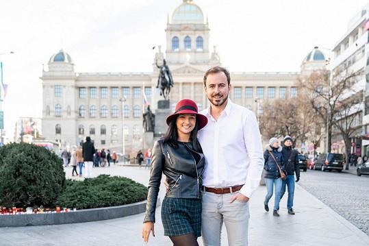 Trénují Miroslav Hrabě a Zuzana Šťastná
