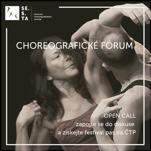 SE.S.TA zve na choreografické forum!