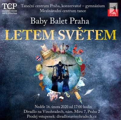 BABY BALET PRAHA tentokrát na Vinohradech