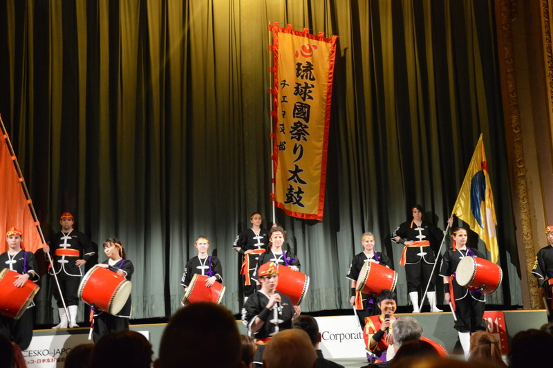 Japonská drum show vpražské Lucerně