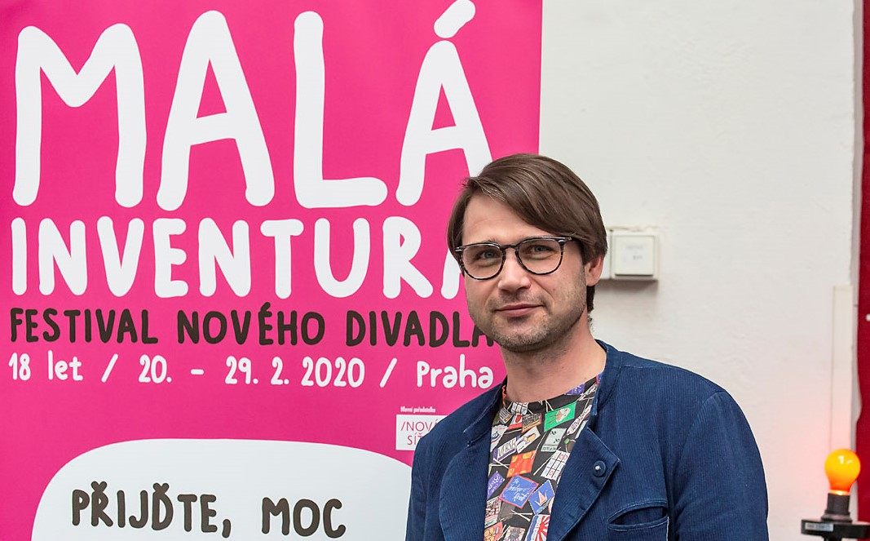 Festivalový rozhovor sPETREM POLOU, uměleckým ředitelem festivalu Malá inventura: