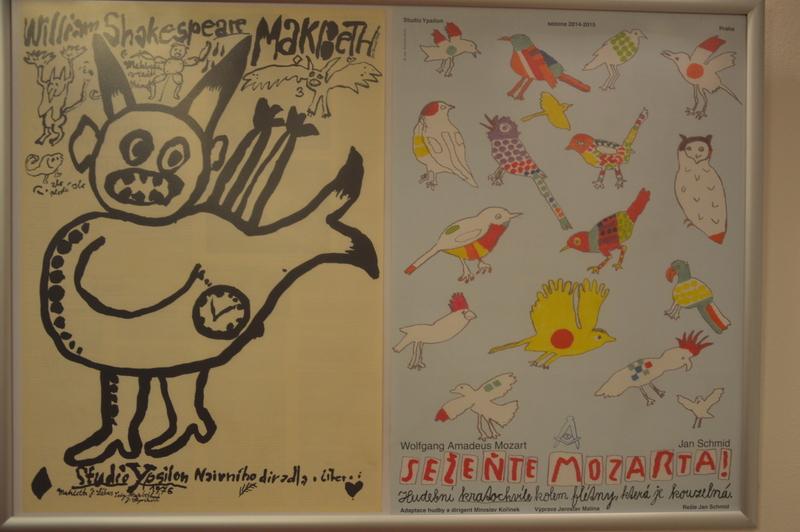 Výstava plakátů Jana Schmida zahájena