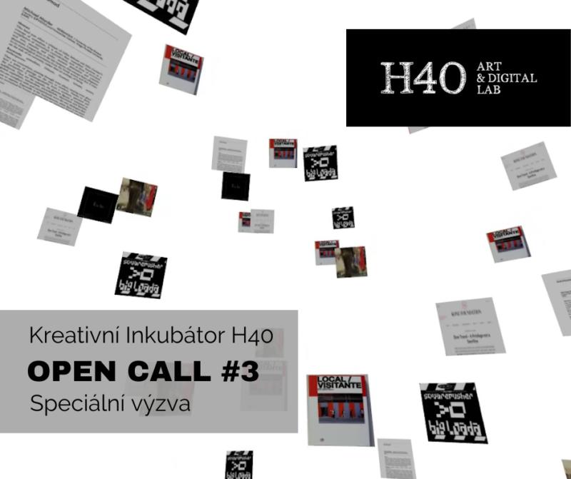 Kreativní Inkubátor H40 – Speciální výzva