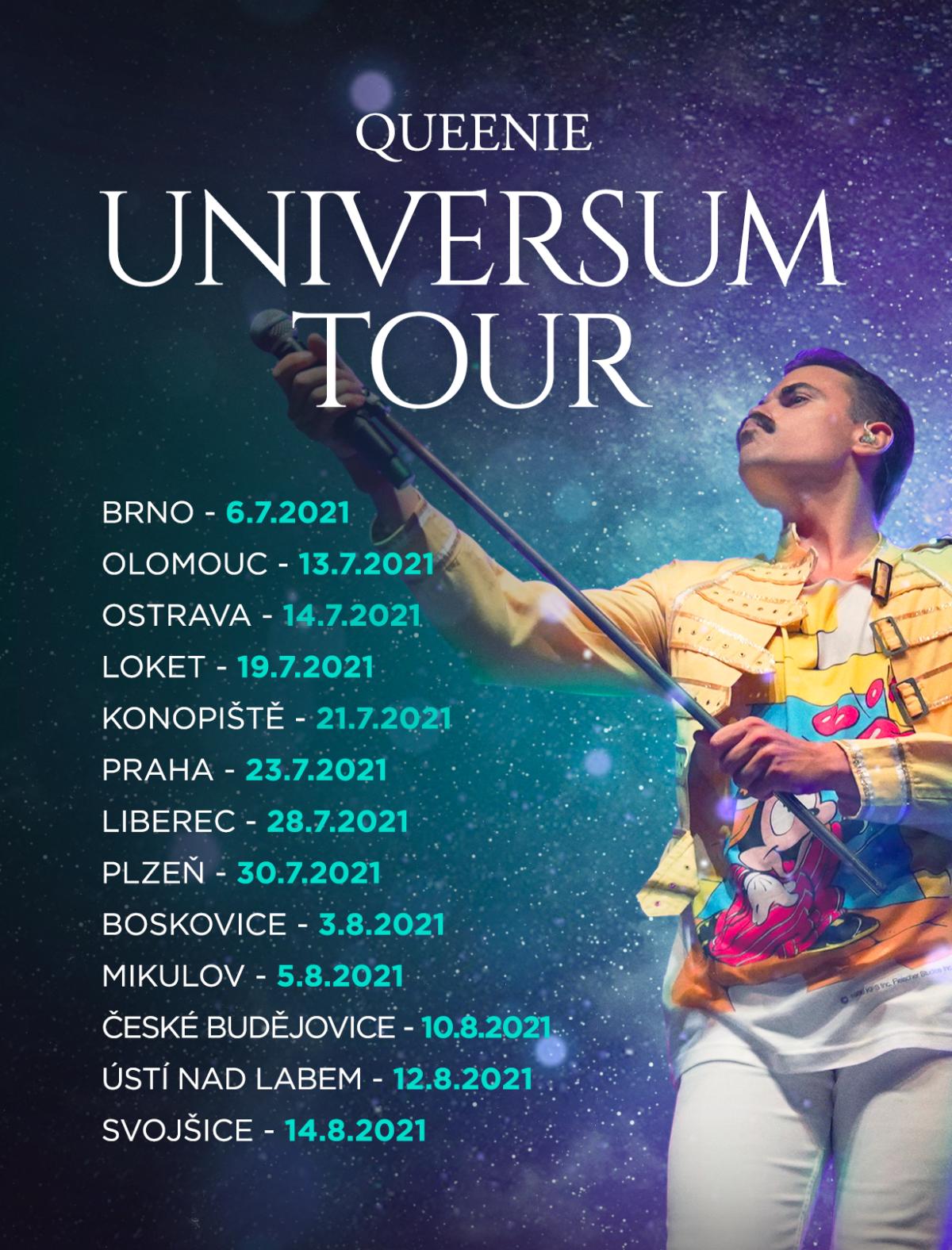 Letní UNIVERSUM TOUR  ve velkém stylu